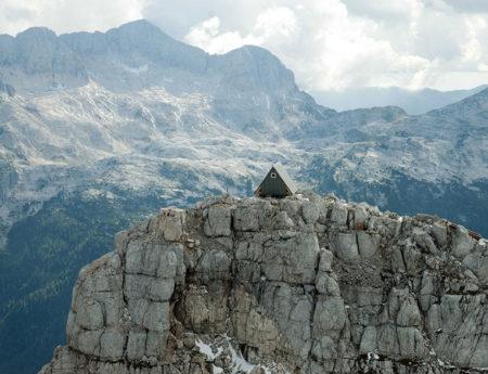 Къщичка с гледка към Алпите