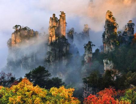 Планината Тианзи, Китай