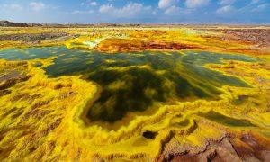 Вулканът Далол в Етиопия