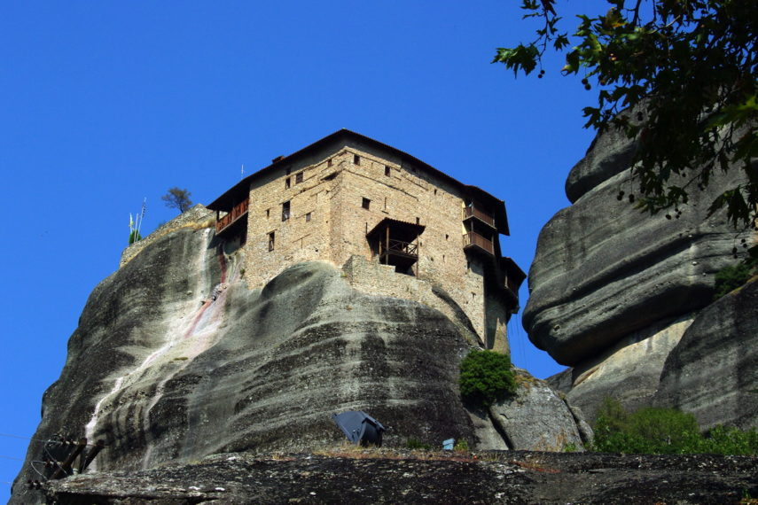 Метеора, манастир Свети Николай Анапавса