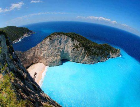 Красотата на остров Закинтос, Гърция