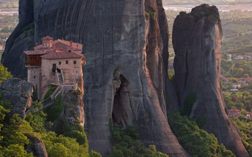 Метеора, Манастир Света Варвара Русану
