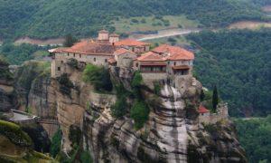 Метеора – манастирите горе в небесата