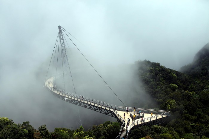 Suspension bridge, Langkawi