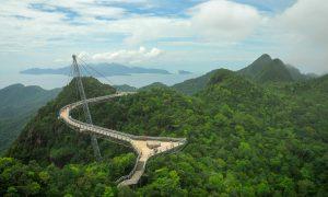 Небесният мост в Малайзия