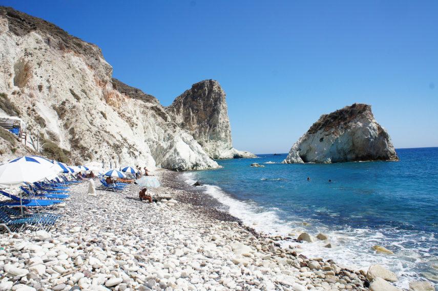 Белият плаж на Санторини