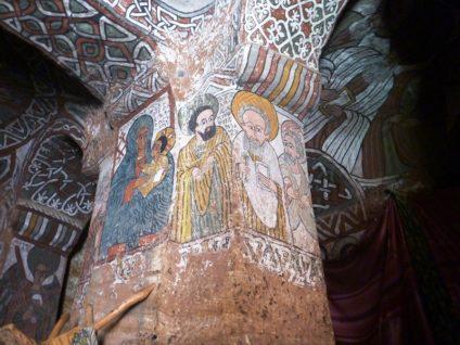 Стенописи в Абуна Йемата