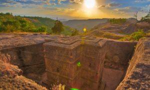 Необикновените скални църкви на Етиопия