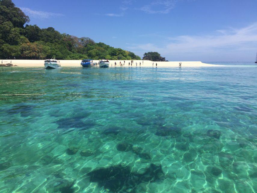 Плаж на Тарутао, Тайланд
