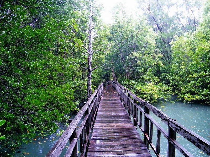 Мост към затвора Тарутао